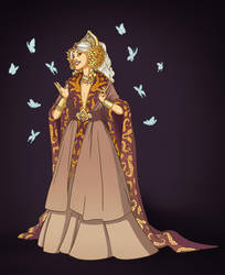 Queenly Garb by TLCook