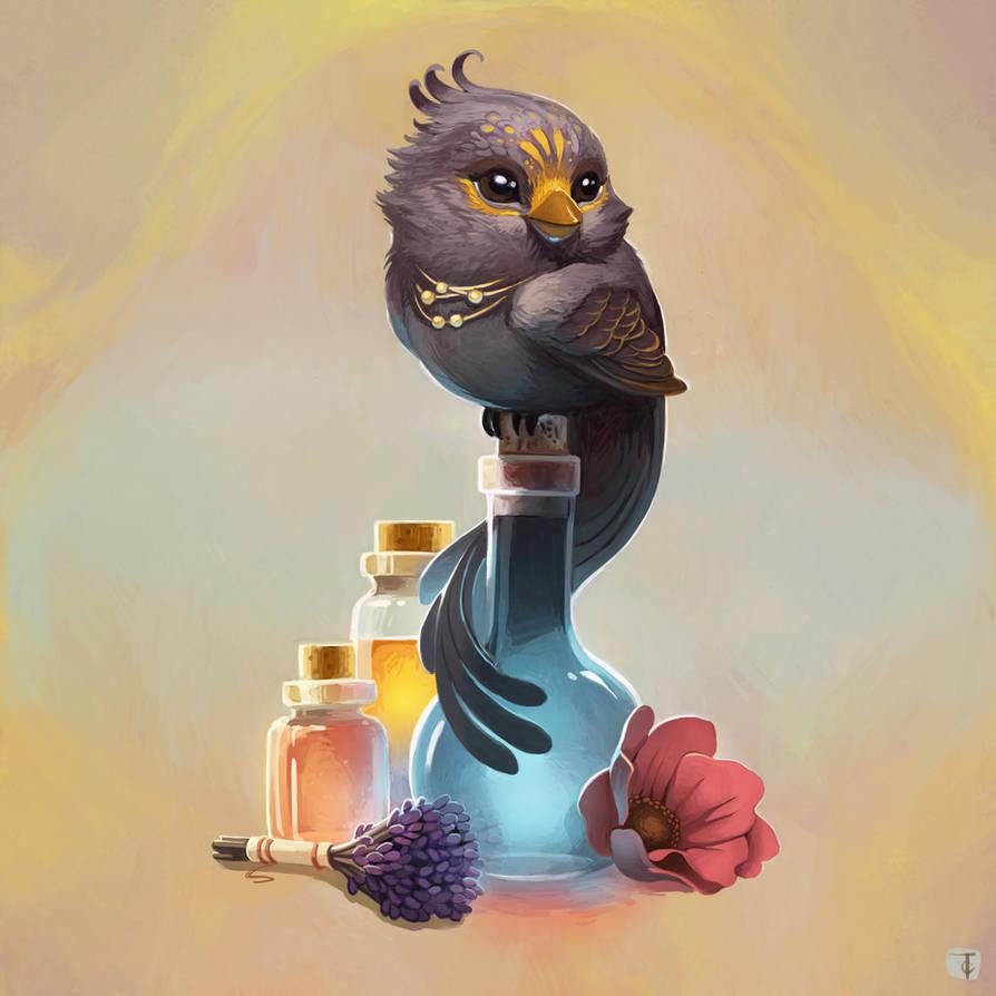 Healer's Towhee by TLCook