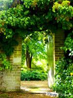The Secret Garden by ChirpyChickadee