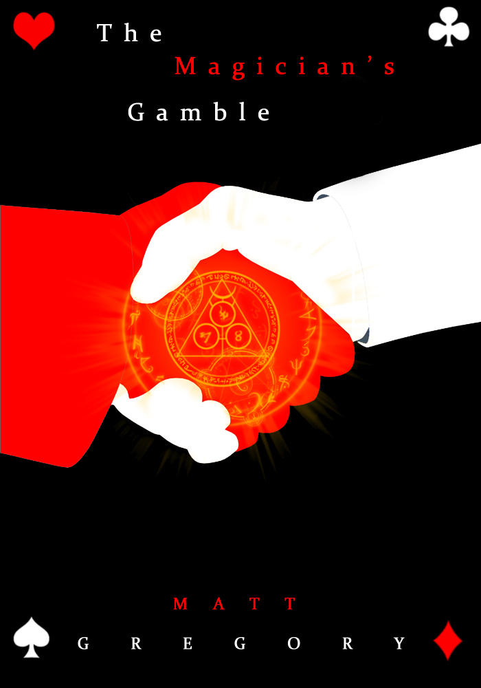 The Magician's Gamble - Cover by ZandMGregoryInc