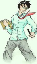 The Writer by ZandMGregoryInc