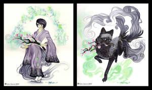Spirit Eater Misuto by LucidKitsune