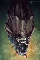 Coffee Bat by LucidKitsune