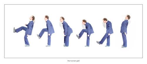 the human gait by raumzeit