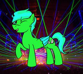 Neon Glowwings (Art Trade) by Knights--of--Ren