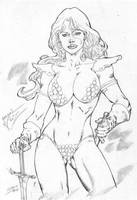 _Red sonja by JardelCruz