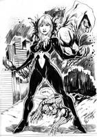 Mary Jane Venom by JardelCruz