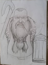 Random dwarf by Zabojcerz