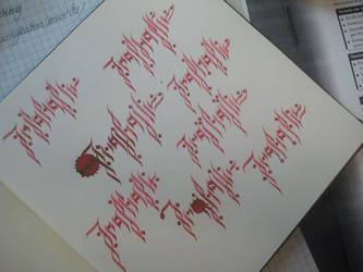 freiheit (tattoo) by Dr24cK