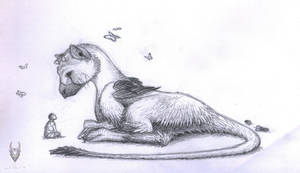 The Last Guardian sketch by Poci16