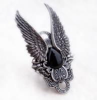 Dark Angel Ring by Aranwen