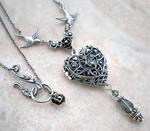 Silver Heart Locket by Aranwen