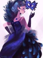Dark Mercury Masquerade by hyamei