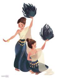 Thai Dance by hyamei