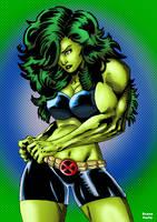 She-Hulk by BrunoFariaINK