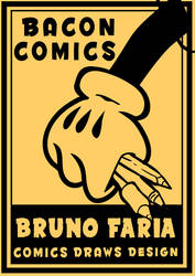 Bruno Faria POSTER RETRO by BrunoFariaINK