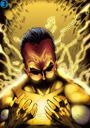 Sinestro by BrunoFariaINK