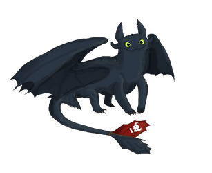Toothless by Sheather888