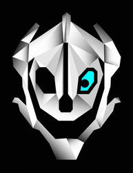 Gaster Blaster (Low Poly) by TheDragonsBlaze