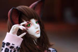Fox girl 1 by chibi-lilie