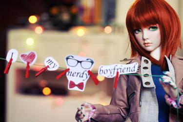 I Love My Nerdy Boyfriend by chibi-lilie