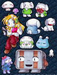 cave story fridge magnets by gerbilfat