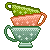Teacup Stack - Free Icon by JupiterLily