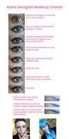 Aoba Seragaki Makeup Tutorial by yirico
