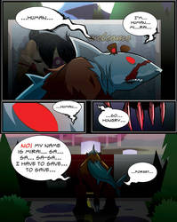 Zombie Shark Bear Ep 1 - Break The Skin Page 90 by gpanthony
