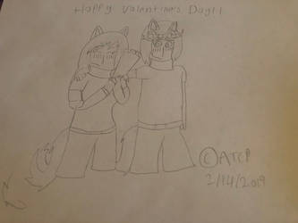 Happy Valentines Day by AngelTheCyborgPanda