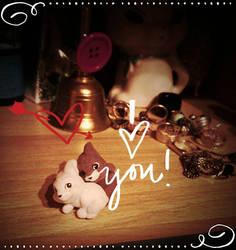 i love you by OOOri