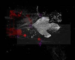 Black Text Texture by VaLeNtInE-DeViAnT