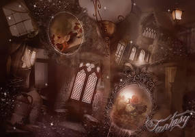 Fantasy Premade Background by VaLeNtInE-DeViAnT