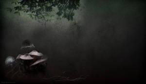 FANTASY FOREST BACKGROUND by VaLeNtInE-DeViAnT