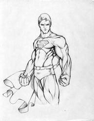 supes drawing by sup-r-man