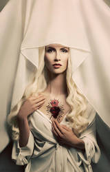 White Madonna by Widmanska