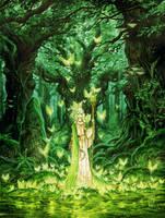 elf druid by kadricemiloglu