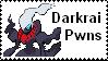 Darkrai stamp by Wierdtails