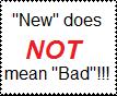 'New' Stamp by Wierdtails