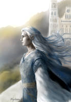 Celeborn in the Fourth Age by alystraea