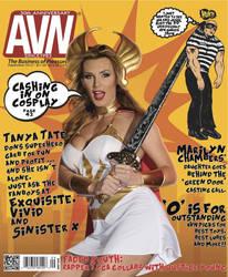 AVN Magazine Cover - Tanya Tate She-Ra Cosplay by TanyaTate