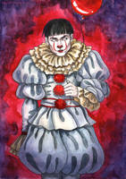 Credence Barebone - Pennywise by Domerk