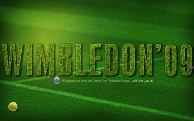 Wimbledon 09 Wallpaper by colaja