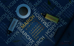 march wallpaper by colaja