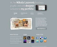 Good-Looking Portfolio by colaja