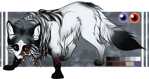 Poison - Fox Adoptable - SOLD by Kayxer