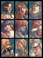 Family of Nine by JamieKinosian