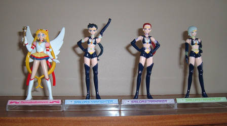 Sailor stars petit soldier set by RakikoHime