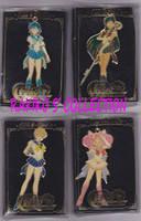 Sailor moon metal keychains by RakikoHime