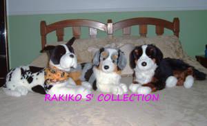 Douglas cuddle friendly dogs by RakikoHime